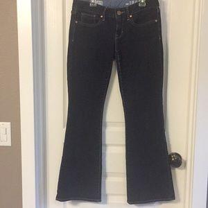 GAP 1969 Curvy Fit Dark Wash Denim Jeans 26 2a